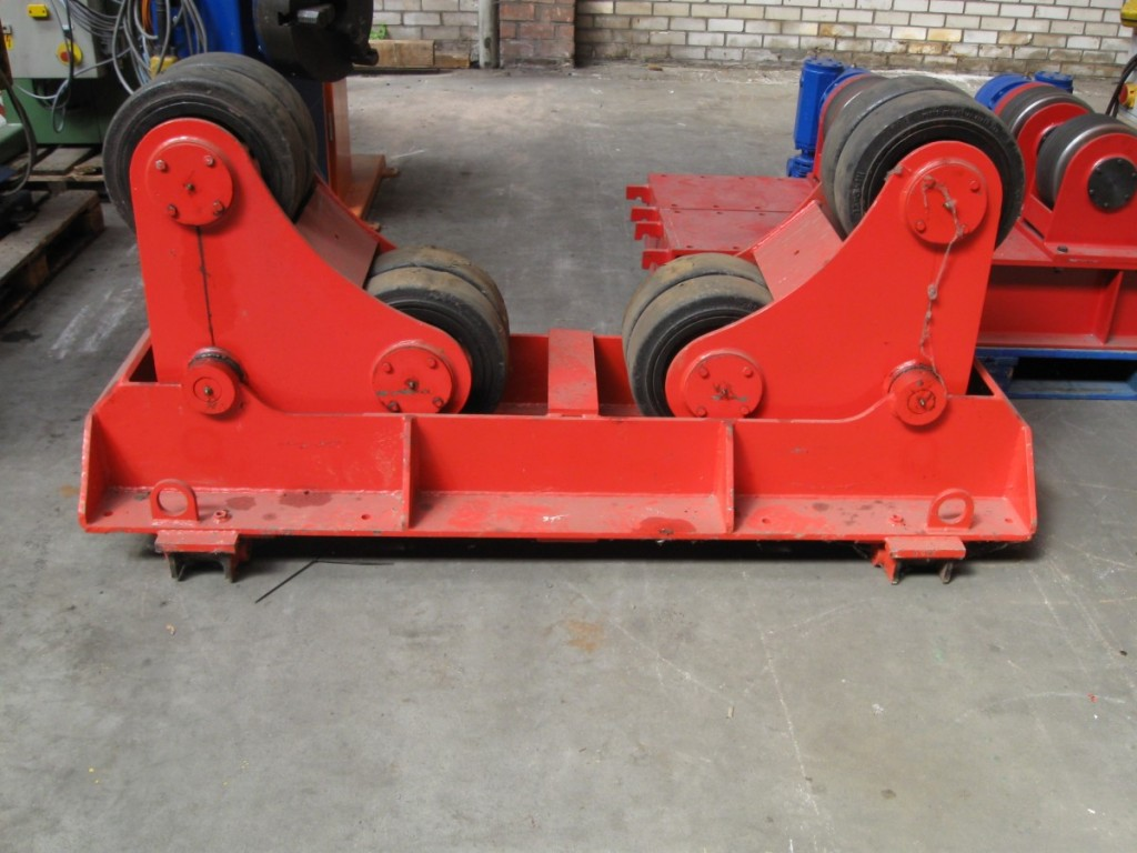 05 Bode SAR 600 Rotators Idler 30 tons