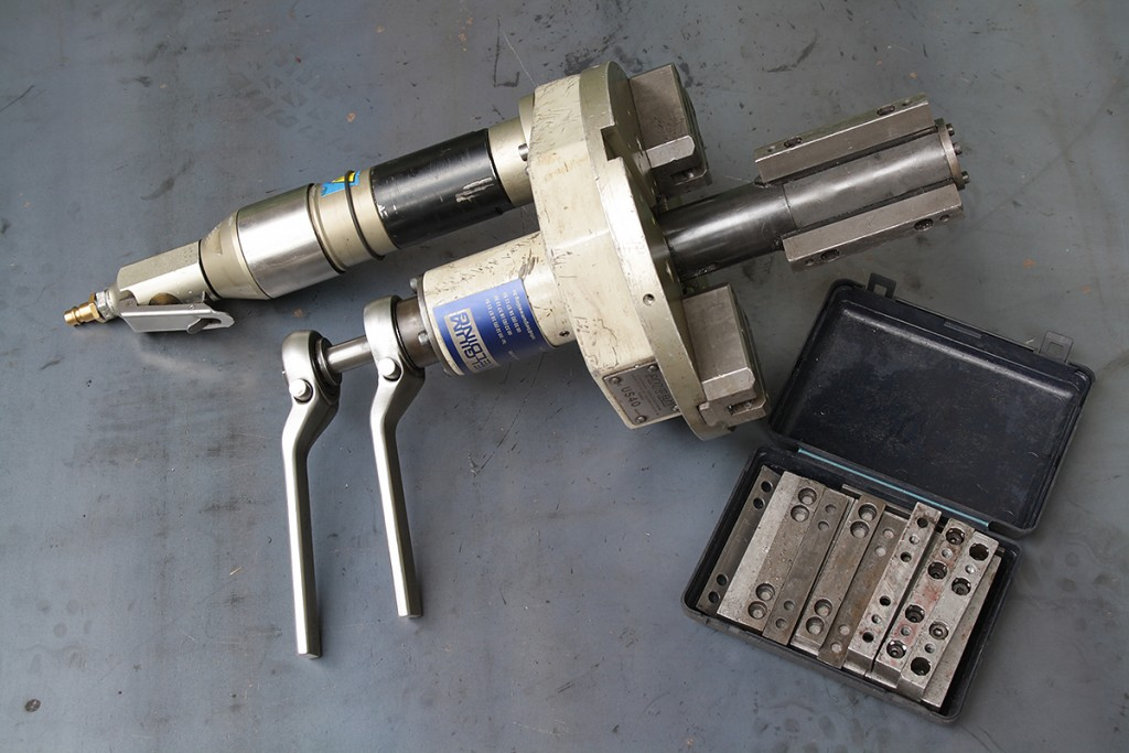 PROTEM US40 Pneumatic bevelingmachine 2-8 inch