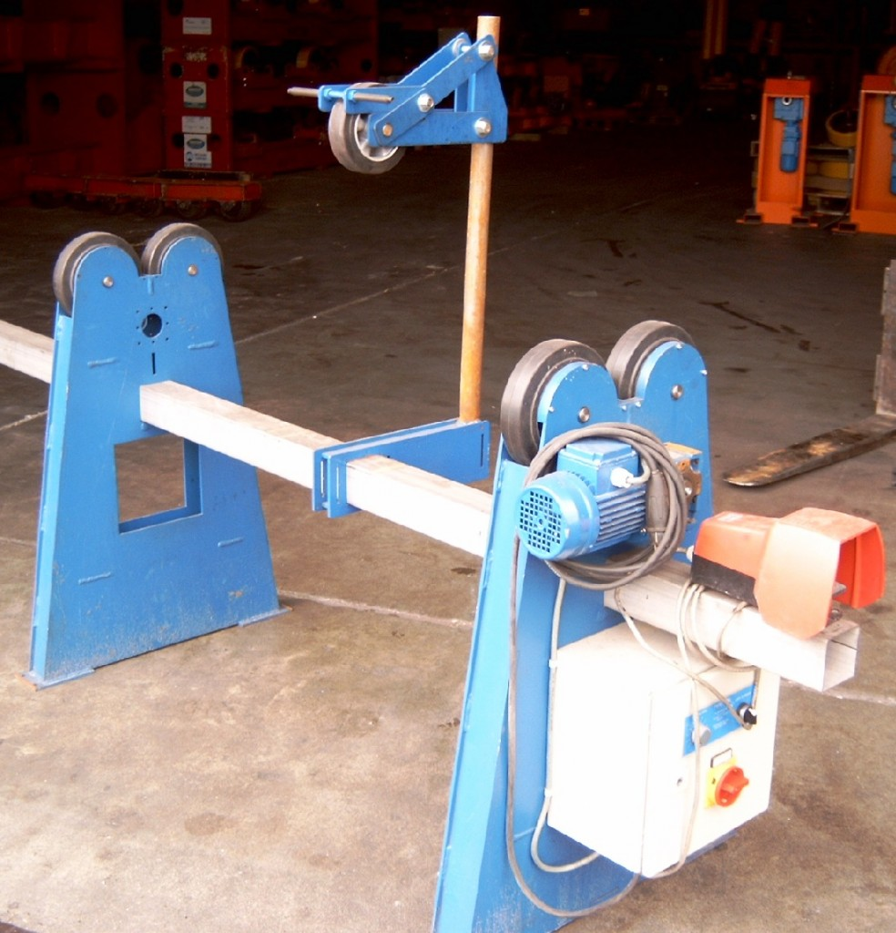 Rotators set with pushroll R500Kg