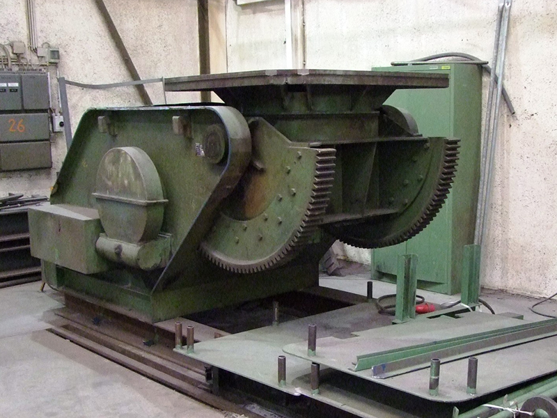 Gustav Stähler SD1000 Weld Tilt and Turn Table