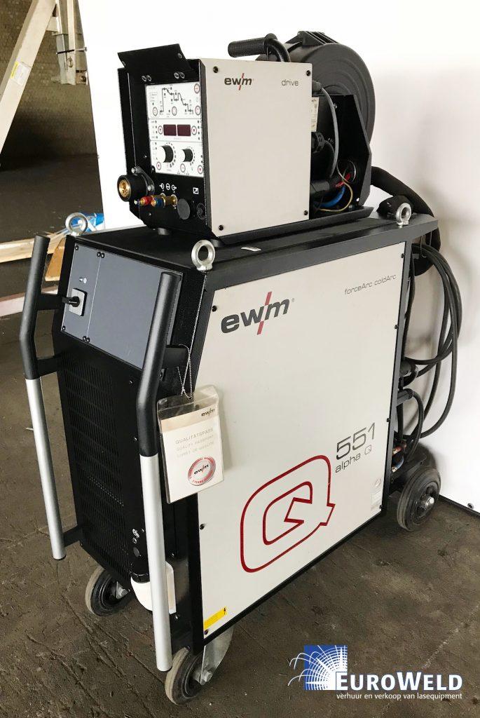EWM Alpha Q551 met Q drive4L