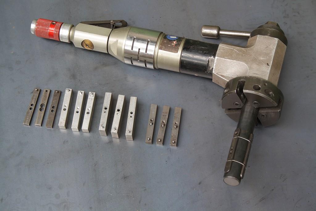 PROTEM US25 Pneumatic bevelingmachine 1-3 inch