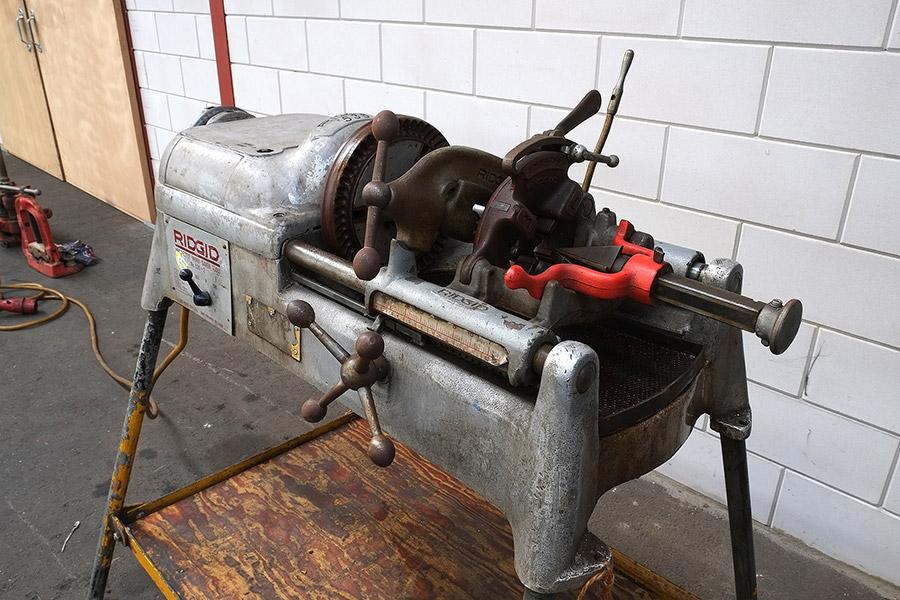 Ridgit 535 Threading machine