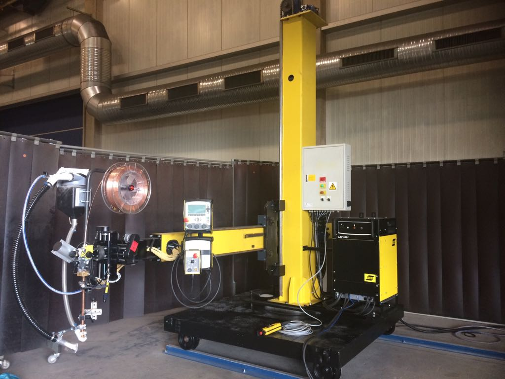 Euroweld delivers Column&Boom with Esab equipment in Germany